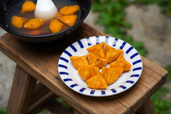 黃金地瓜餃